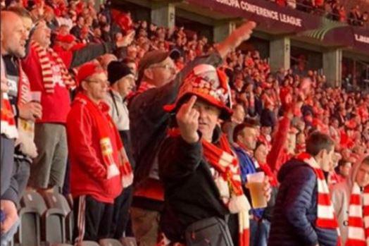 Antiszemita botrány a berlini stadionban, az UEFA vizsgálódik